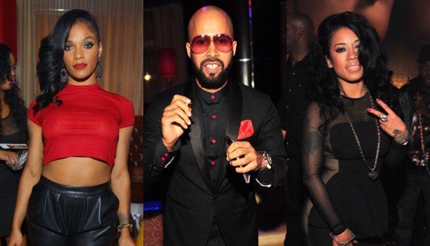 Keyshia Cole, Joseline Hernandez & Fabolous Spotted At Kenny Burns Book Release Party