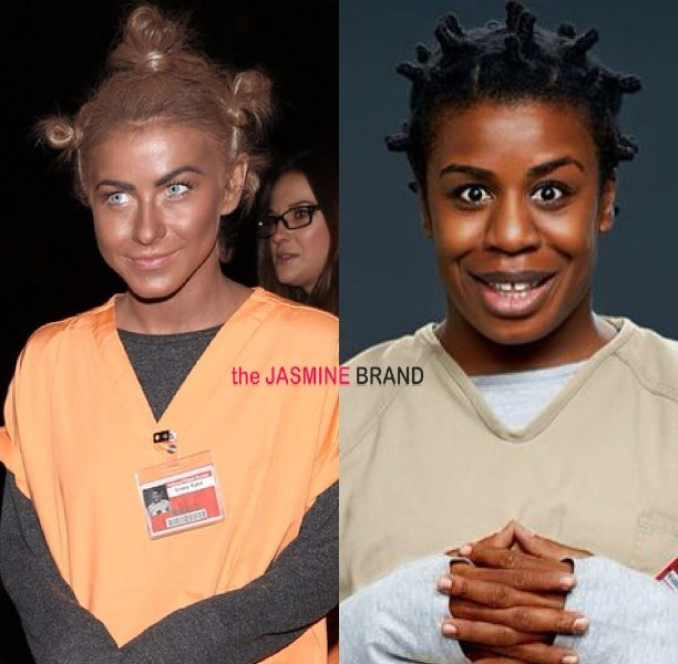 Creative Or Racist? Julianne Hough Dons Blackface For Halloween Costume