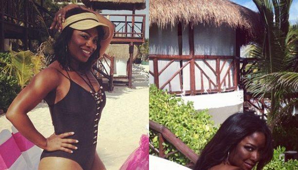 More Skin Please! Kenya Moore, Kandi Burruss & More Atlanta Housewives Go Beachin' In Bikinis