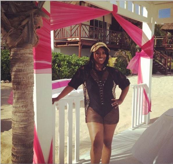 kandi-real housewives of atlanta-beach-bikini-the jasmine brand