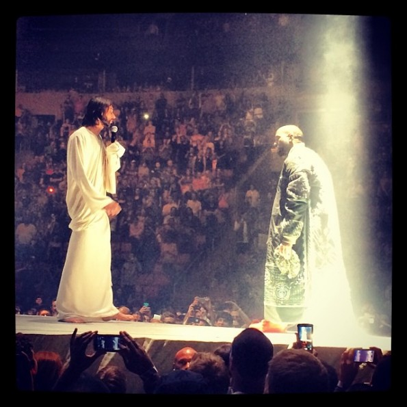 kanye west-jesus impersonator-seattle tour-the jasmine brand