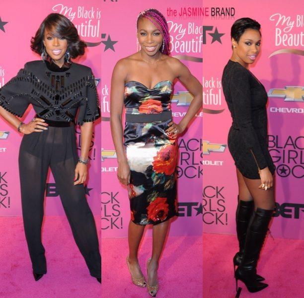 [Photos] Jennifer Hudson & Venus Williams Debut New Hair + Queen Latifah, Nia Long & More Women Shine At 'Black Girls Rock!'