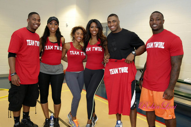 kenya moore-team twirl-real housewives of atlanta-bailey bowl-the jasmine brand