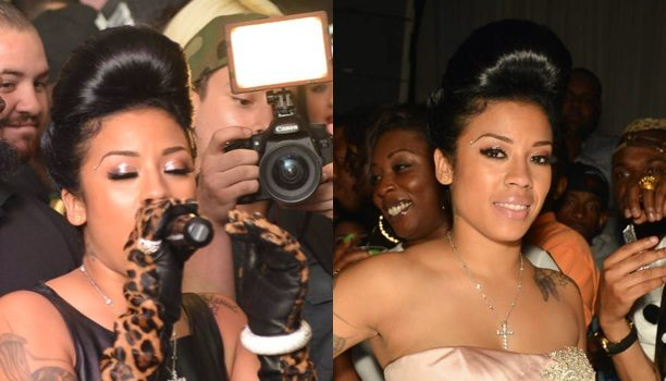 [Photo] A Ring-Less Keyshia Cole Celebrates Hollywood Birthday Bash With Hubby, Kevin McCall & Friends