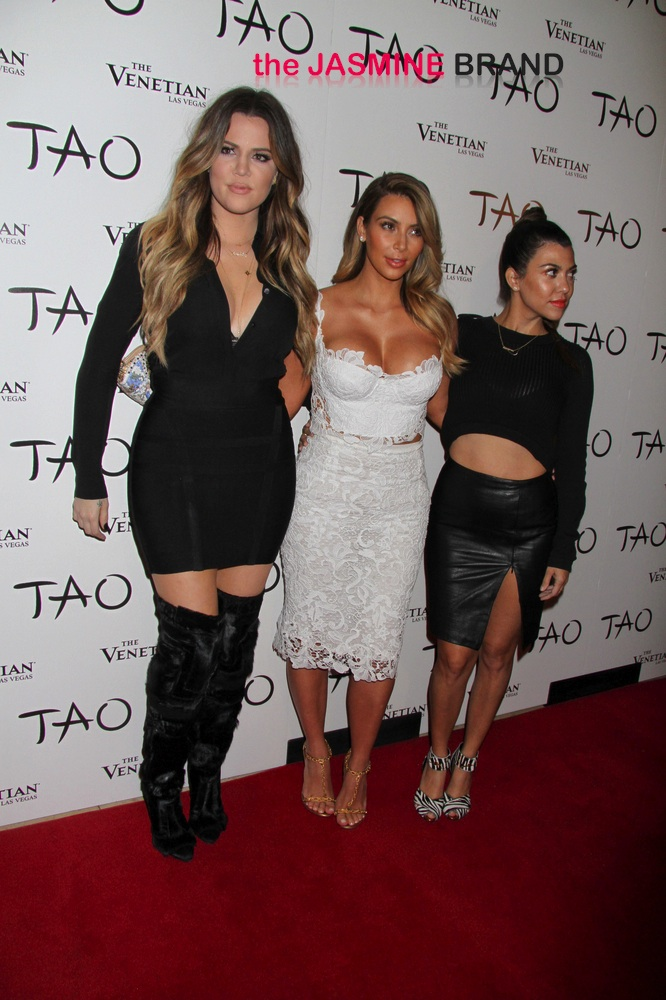 Kim Kardashian 33rd Birthday Celebration at Tao Nightclub in Las Vegas on October 25, 2013