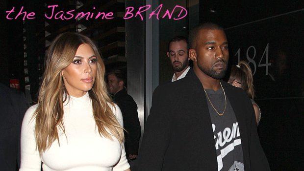 Ear Hustlin': Kanye West & Kim Kardashian To Have Courthouse Wedding This Week