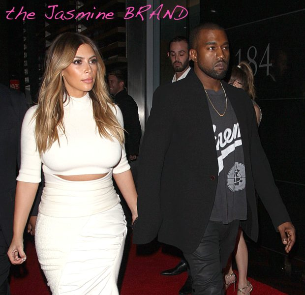 Ear Hustlin': Kanye West & Kim Kardashian To Have Courthouse Wedding This Week