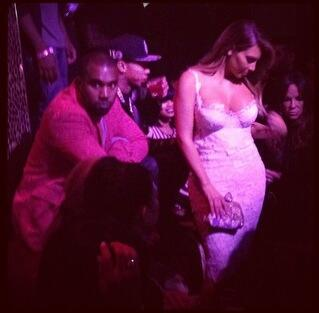 kim kardashian-las vegas birthday-kanye west-tao-the jasmine brand