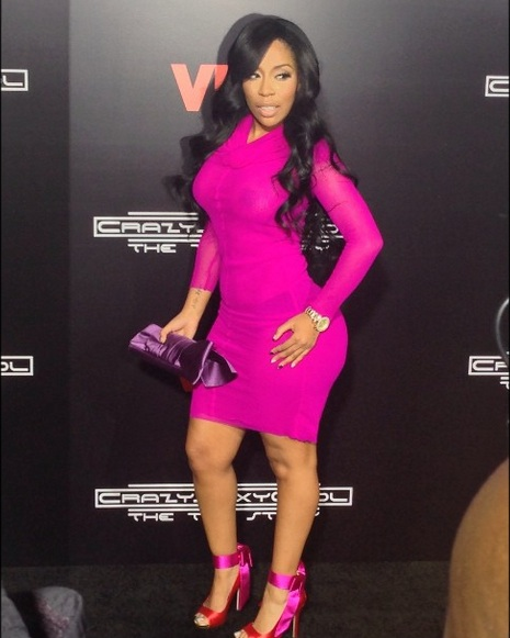 Red Carpet Fun! A-Listers Hit the 'CrazySexyCool: The TLC ... K Michelle 2013