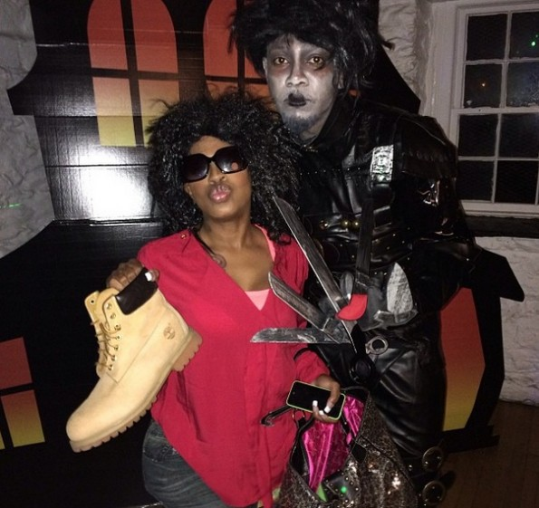 lil mo-dresses as kelly price-for halloween-the jasmine brand