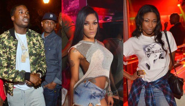 [Photos] Stevie J, Joseline Hernandez + T.I. & Tiny Party With 'The Weeknd' in Atlanta