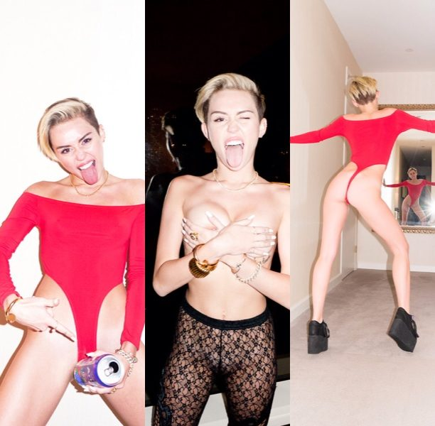 Edgy Or A Strategic Hot Mess? Miley Cyrus Proves She's Even Edgier In Terry Richardson Shoot