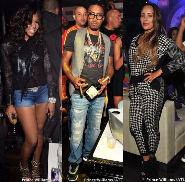 Cigars, Haute Shoes & Celebs Caught Partying In ATL + Drake, Nas & Ludacris Spotted