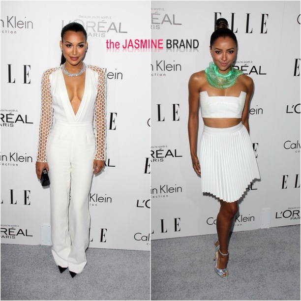 naya rivera-kat graham-20th Annual ELLE Women in Hollywood Tribute-the jasmine brand