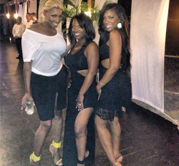nene leakes-kandi burruss-porsha stewart-real housewives of atlanta-beach-bikini-the jasmine brand