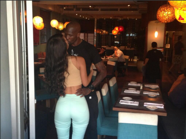 ochocinco-new girlfriend-kimi kouture-the jasmine brand