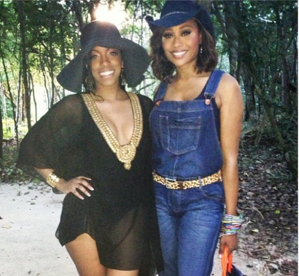 porsha stewart-cynthia bailey-real housewives of atlanta-beach-bikini-the jasmine brand
