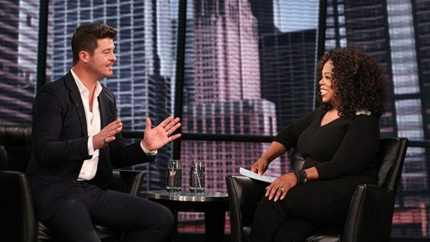 [WATCH] Robin Thicke Talks Infamous Fan 'Booty Grab', Miley Cyrus Performance & Marvin Gaye Lawsuit On Oprah's 'Next Chapter'