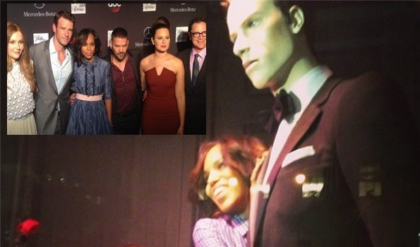 Kerry Washington & Cast Attend Saks Fifth's 'Scandal' Themed Event