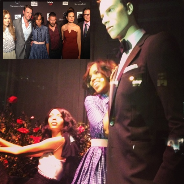 scandal cast-saks flagshop event-the jasmine brand