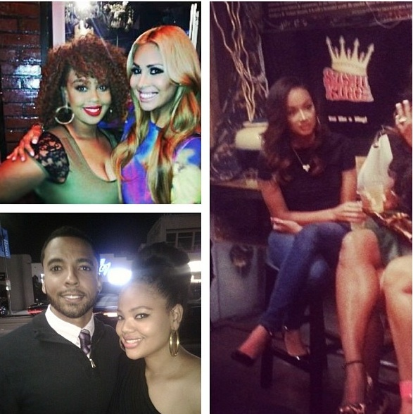 somaya reece-group photo-jackie christie book release-basketball wives la-the jasmine brand