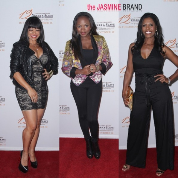 stacy francis-naturi naughton-omarosa-12 years a slave-the jasmine brand