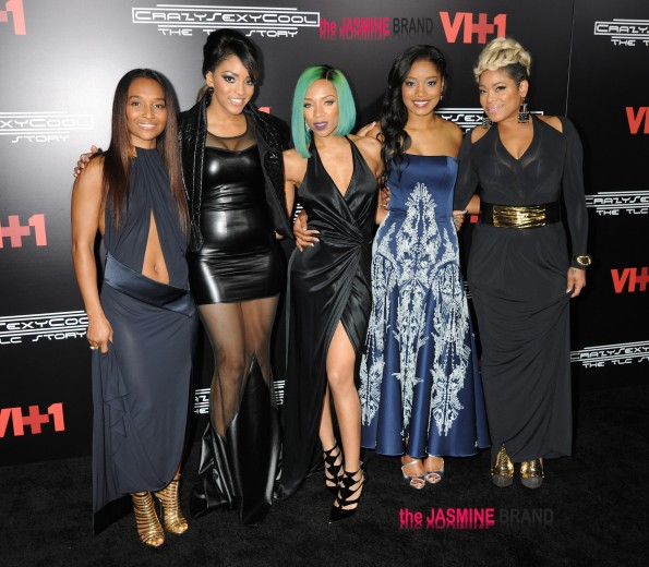 "Cast plus TLC members arrive for premiere of ""CrazySexyCool: The TLC Story"" in NYC"