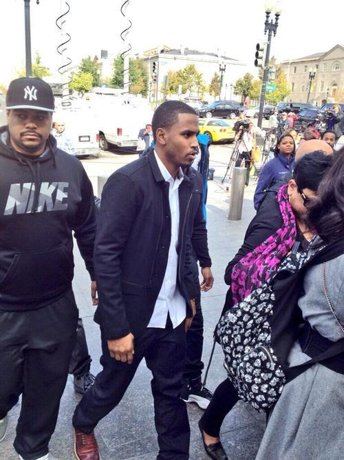 trey songs-arrives at chris brown-dc hearing-the jasmine brand