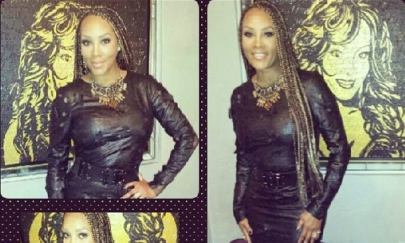 Vivica Fox Gets All 'Braided Up', Diddy & Mayweather Trip-A-Referee At the Lakers Game + Khloe Kardashian Caught Talking To Stuffed Animals