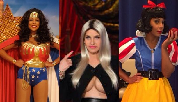 Ellen Plays Nicki Minaj, Wendy Williams Plays Wonderwoman, Miley Cyrus Plays Lil Kim & More Celebs Upgrade Their Halloween Costumes