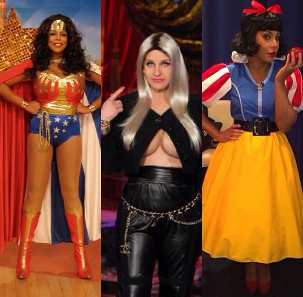 Ellen Plays Nicki Minaj, Wendy Williams Plays Wonderwoman, Miley Cyrus Plays Lil Kim & More Celebs Upgrade Their Halloween Costumes
