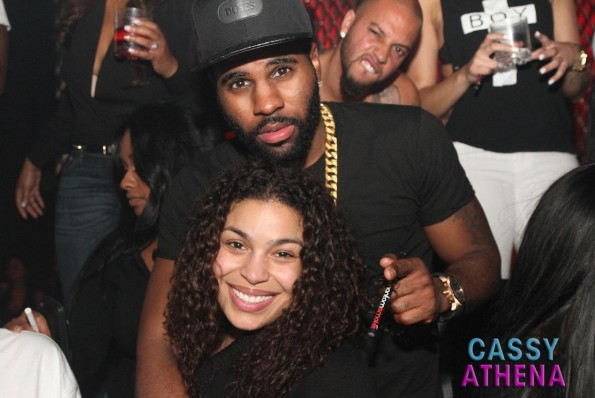 Jason Derulo and Jordin Sparks-the game birthday party-tru hollywood-the jasmine brand