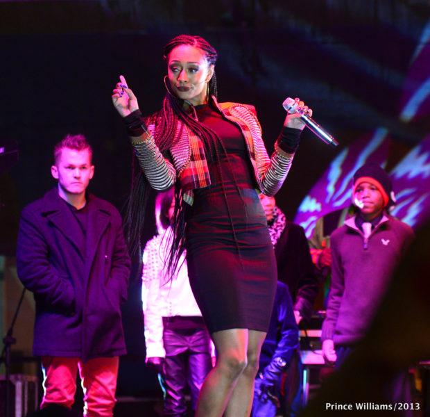 [Photos] Keri Hilson Opens Up Atlanta's 'Global Winter Wonderland' + 2 Chainz & Mimi Faust Make It A Family Affair