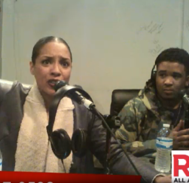 [VIDEO] Pebbles' Daughter, Ashley Reid, Speaks Out, Threatens Chilli, 'I will beat her face into the concrete!'
