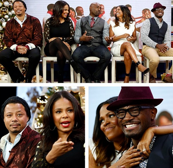 Best Man Holiday Cast On Today Show-The Jasmine Brand