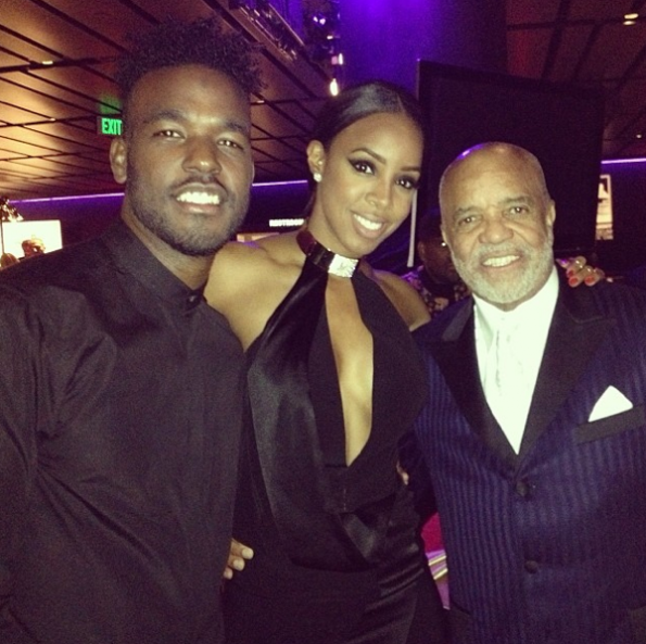 Kelly Rowland-Luke James-Berry Gordon Grammy Event-The Jasmine Brand