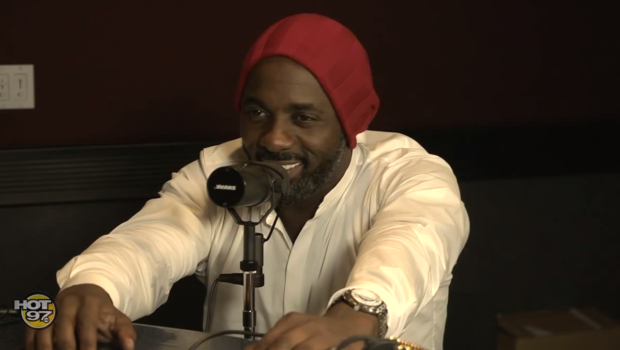 [Video] Idris Elba Breezes Pass Pregnancy Reports, Says No One Cared About His Personal Life Until He Got Boo'ed Up