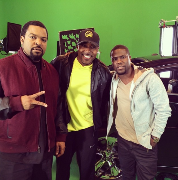 Kevin Hart-Will Packer-Ice-Cube-Ride-Along-The Jasmine Brand