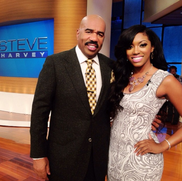 Steve Harvey-Helping Porsha Stewart Find A Man-The Jasmine Brand