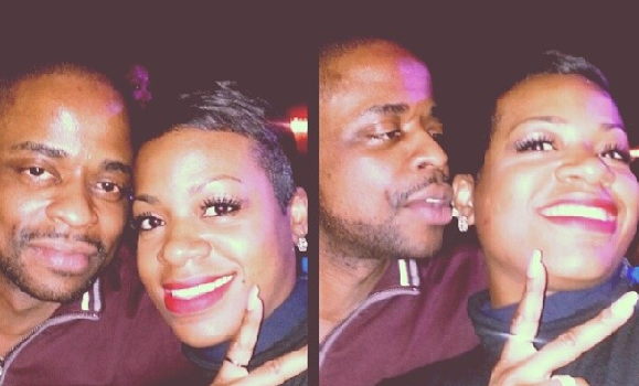 [Photos] Fantasia & Rumored Boyfriend Actor Dule Hill Cup Cake On Instagram