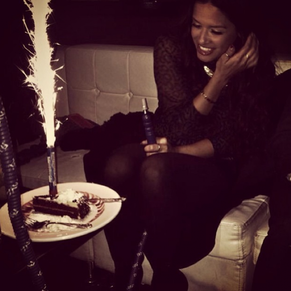 Rocsi Diaz-Celebrates Birthday-The Jasmine Brand