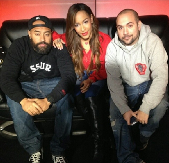 Amina Buddafly Stops By Hot 97-The Jasmine Brand