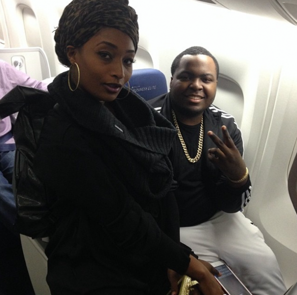 Sean-Kingston-Toccara-Jones-Attend CAAN Awards In Africa-The Jasmine Brand