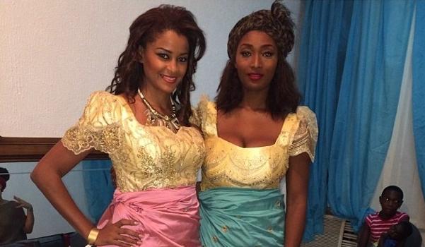Claudia Jordan & Toccara Jones Head To Africa, Attend CAAN Awards In Nigeria