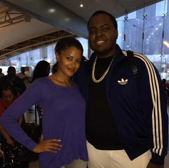 Claudia Jordan-Sean-Kingston-Attend CAAN Awards In Africa-The Jasmine Brand