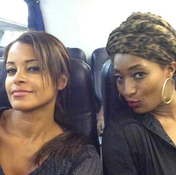 Claudia Jordan-Toccara-Jones-Attend CAAN Awards In Africa-2-The Jasmine Brand