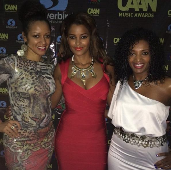 Claudia Jordan-Friends-Attend CAAN Awards In Africa-The Jasmine Brand