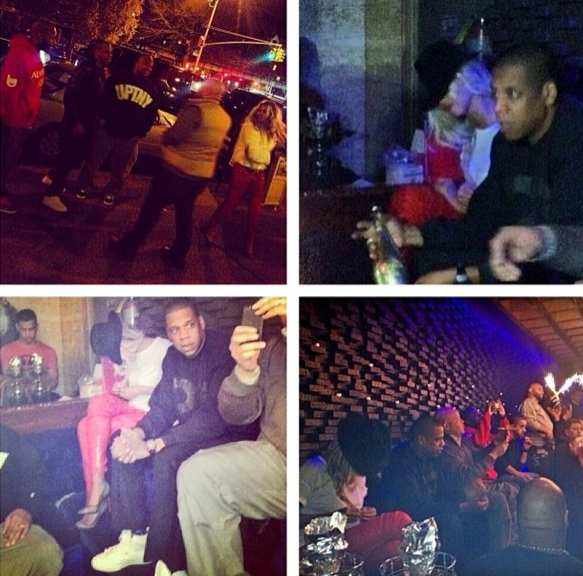 Beyonce-Jay Z-Negro-Claro-Lounge-NYC-The Jasmine Brand