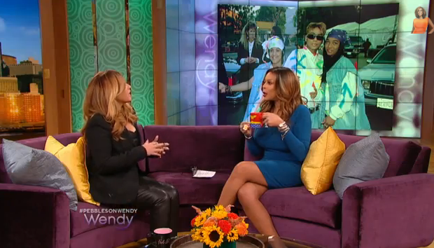 [WATCH] Ouch! Pebbles Visits Wendy Williams, Blasts TLC Biopic & Accuses Chilli Of Having Affair With L.A. Reid