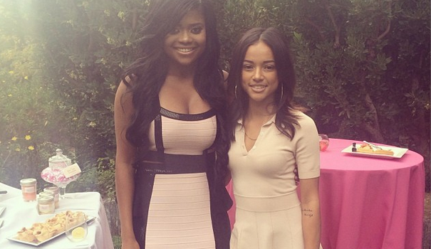 [Photos] Karen Civil's 'Live Civil Brunch' Brings Out Karrueche, Melody Thornton & Lola Monroe